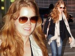 Amy Adams manages both comfort and style as she dresses down after red carpet glamour of the Toronto Film Festival