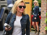 Geri Halliwell heading to meetings in Central London