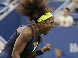 Williams hadn't dropped a set in the tournament, losing only 19 games through six matches before Sunday