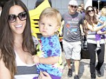 Alanis Morissette and family touch down in Rio as she continues on her world tour