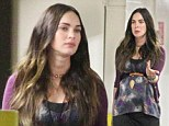 'I'm curvy and I like it!' Pregnant Megan Fox is blooming lovely as she steps out in LA just a month shy of giving birth