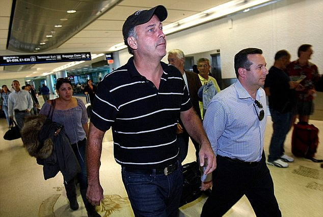 Back home: Giordano returned to the U.S. last November after four months in jail in Aruba