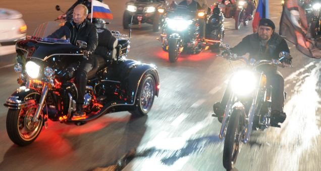 Born to ride: Some commentators will say Putin is losing touch while others will claim he is a confident leader