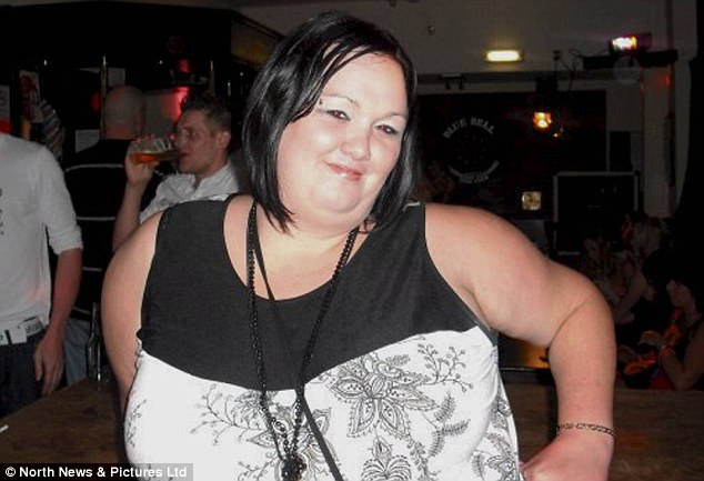 Heath risk: The mother knew she had to do something about her weight after she developed diabetes