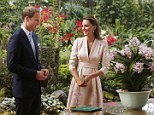 The Duchess of Cambridge and her husband, Prince William, arrived in Singapore this morning marking the start of a nine day tour of south east Asia and the South Pacific to mark the Queen's Diamond Jubilee