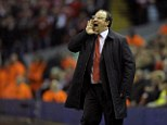 Lashing out: Rafa Benitez claims he was not supported in the transfer market