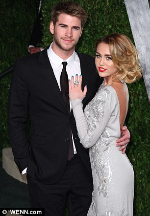 Butter wouldn't melt: Liam and Miley met in 2009 on the set of The Last Song