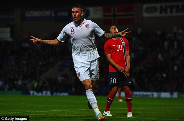More to come: Stuart Pearce wants to see more from the likes of Connor Wickham in his Under 21 side