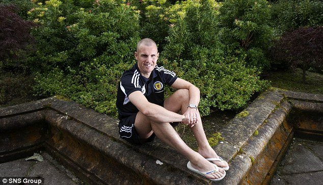 Raring to go: Kenny Miller is all too aware that Scotland must raise their game against Macedonia