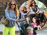 It's back to school for Sarah Jessica Parker..but she still has a touch of Fashion Week about her