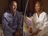 The skit featured Couric's 'TV husband' Matt Lauer who was her co-host during her many years on NBC's Today Show.