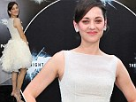 Marion Cotillard goes to the gym, but keeps her legs in shape with regular walking and cycling