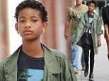 Too cool for school? Summer holidays are over, but the classroom is nowhere in sight for Willow Smith