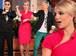 Britney Spears joins Gangnam dance craze with a lesson from South Korean pop sensation on Ellen Degeneres show