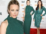 Rachel McAdams is left green with envy as she is outshone by co-star Olga Kurylenko at To The Wonder Toronto premiere