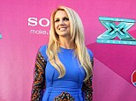 She's electric! Britney Spears wows in a cobalt dress as she cements her X Factor judging duties in stone at official premiere of the show