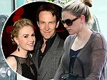 Baby joy: True Blood's Anna Paquin and Stephen Moyer have welcomed twins