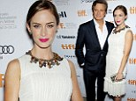Eco Chic: Emily Blunt walks the Green Carpet in a reclaimed dress