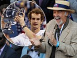 Hail to the king! Sean Connery leads the way as celebrities cheer Andy Murray's historic US Open triumph