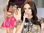 Cher Lloyd performs her song 'Want U Back' at Mercedes-Benz New York Fashion Week Spring/Summer 2013 - Tumbler and Tipsy