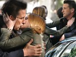Who says Alec gets all the women! William Baldwin locks lips with Kaylee DeFer on set of Gossip Girl