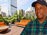 Hip-hop mogul Russell Simmons puts his restored New York penthouse back on the market for $11million