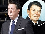 First look: Alan Rickman is transformed into late US President Ronald Reagan as he films The Butler