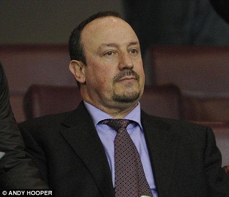 Looking for work: Benitez has been without a managerial role for nearly two years after being sacked by Inter Milan