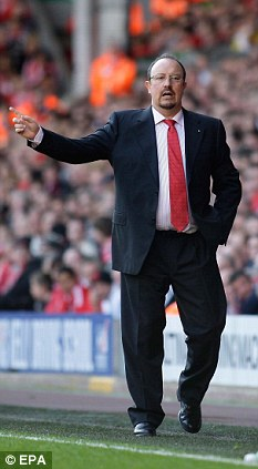 Surprise: Rafa Benitez has admitted his disappointment at being overlooked for the Liverpool manager's post following the dismissal of Kenny Dalglish in the summer