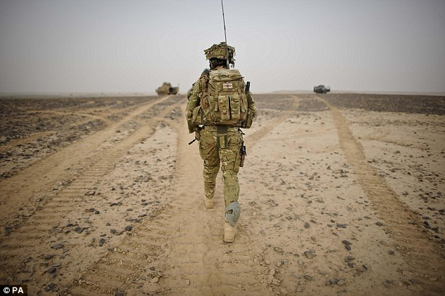 Blast: Sergeant Lee Paul Davidson's death brings the number of members of UK forces to have died since operations in Afghanistan began in October 2001 to 427. (File picture)