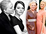 'It's hugely emotional': Emma Stone joins her breast cancer-survivor mother Krista in touching portrait to raise awareness of the disease