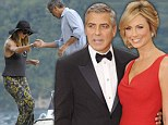 By George is it over? Clooney 'ends his romance with girlfriend of just over one year Stacy Keibler'