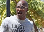NFL star Chad Johnson charged for 'headbutting wife Evelyn Lozada' during condom argument