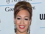 Cheese: Rebecca Ferguson was all smiles earlier this year as she attended an event in New York