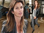 Make-up free and ready for bed... but Cindy Crawford still looks sensational at 46