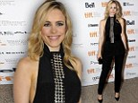 Halter skelter! Rachel McAdams is a delight in high neckline at Passion screening