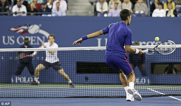 Court coverage: The athleticism of both men was awesome, with rallies lasting more than 30 shots