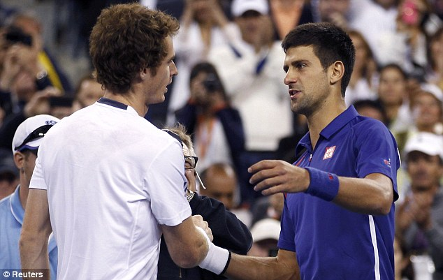 Welcome to the club, pal: Djokovic was gracious in defeat and hailed his old friend's achievement