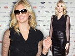 Hot commodity: Kate Upton dons sophisticated black to host 9/11 Cantor Fitzgerald charity fundraiser in New York