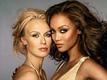 Disappointed: America's Next Top Model winner Cari Dee English pictured with the show's creator and host Tyra Banks