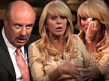 Dina Lohan is confronted by Dr Phil