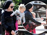 Pink went to Hyde Park in London with her daughter Willow Sage