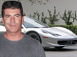Double trouble: Simon Cowell splashes out on his second Ferrari in a year