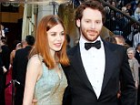 Parents-to-be: Sean Parker and and fiancé Alexandra Lenas, seen at last year's Oscars, are expecting their first child