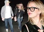 Hilary Duff and husband Mike Comrie arrive at the Hollywood Bowl to see Dave Matthews perform in Hollywood, California