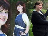 Miss Tyler, who lives in Monmouth, was massively overweight at twenty stone