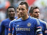 Let me play: John Terry will ask Roberto Di Matteo to be in Chelsea's starting XI