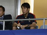 Harden up! Kagawa has vowed to hit the gym to develop his strength