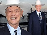 Surprise treatment: Larry Hagman, pictured in London in August, has revealed he turned to marijuana after his cancer treatment