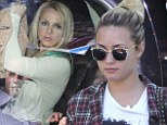 And breathe! Demi Lovato and Britney Spears dress down following their judging debuts on US X Factor